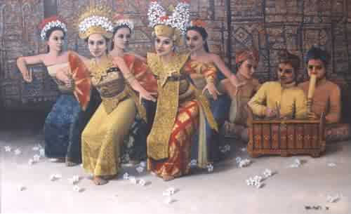 Painting by Hatta Hambali